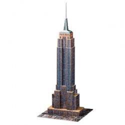 PUZZLE 3D 216el EMPIRE STATE BUILDING RAVENSBURGER